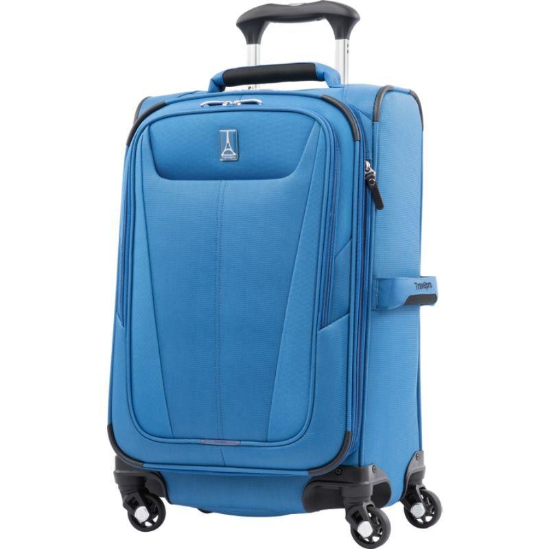 トラベルプロ メンズ スーツケース バッグ Maxlite 5 21 Expandable Carry-On Spinner Azure Blue