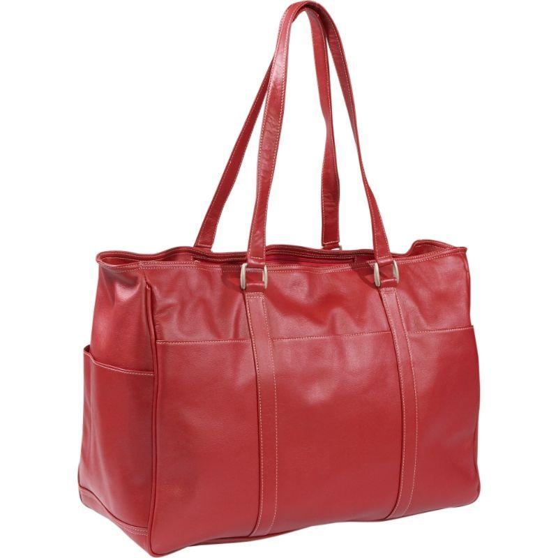 ピエール レディース スーツケース バッグ Women's Large Business Tote Red