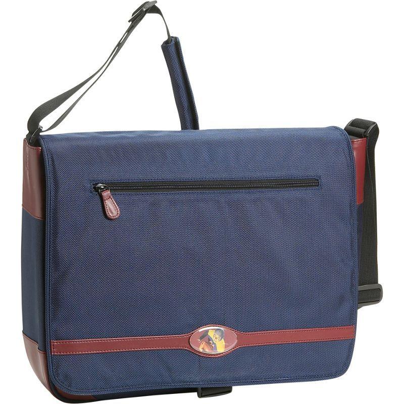モバイルエッジ メンズ スーツケース バッグ Maddie Powers DIG 15.4 Laptop Messenger Blue
