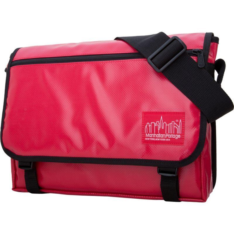 マンハッタンポーテージ メンズ ショルダーバッグ バッグ Europa Messenger Bag Vinyl (MED) Red
