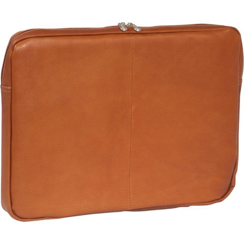 ピエール メンズ スーツケース バッグ 17 Zip Laptop Sleeve Saddle