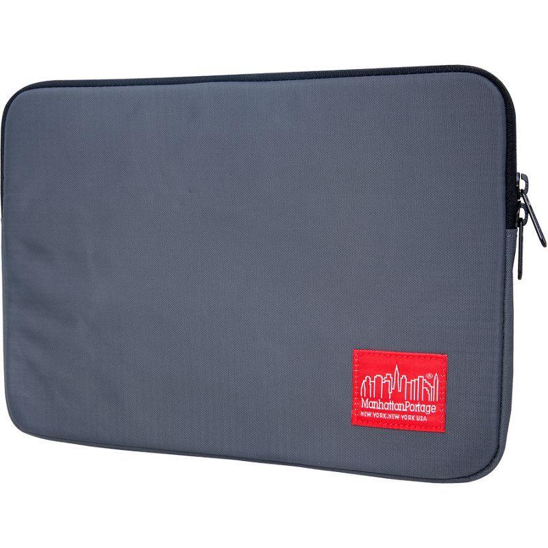 マンハッタンポーテージ メンズ スーツケース バッグ Nylon Laptop Sleeve (10) Gray