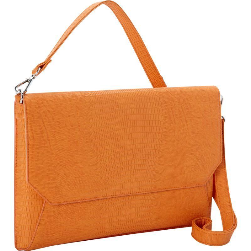 ウーメンインビジネス レディース スーツケース バッグ Francine Collection - Laptop Sleeve for 11 MacBook Air Orange
