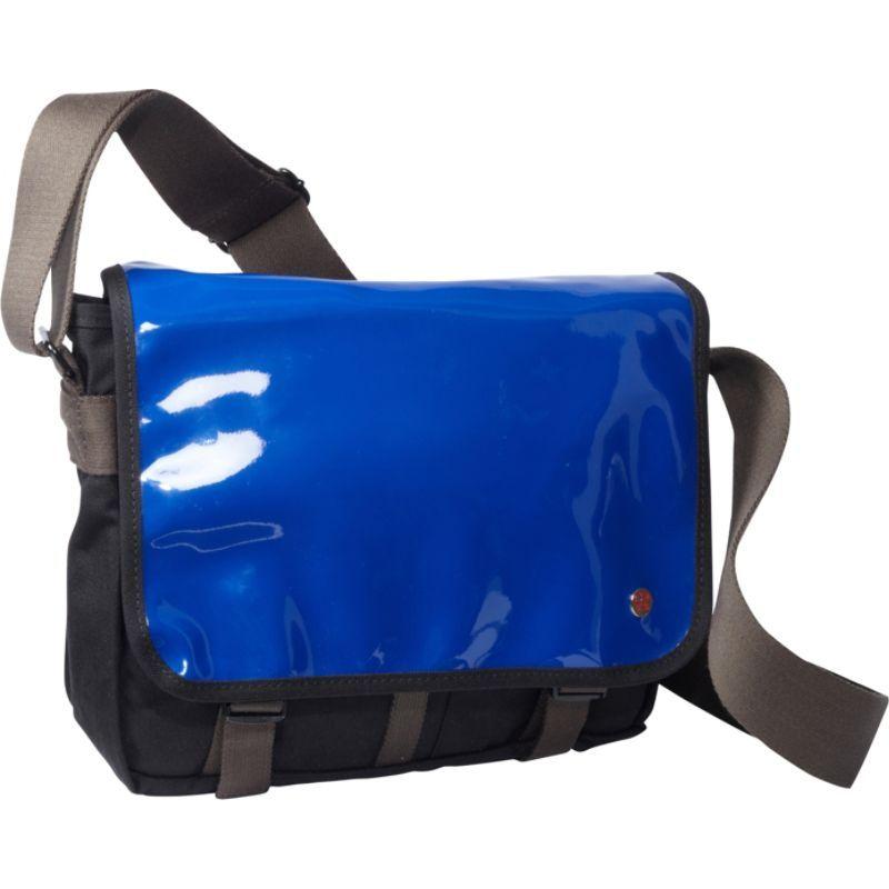 トーケン メンズ ショルダーバッグ バッグ Metropolitan Enamel DJ Bag (S) Royal Blue