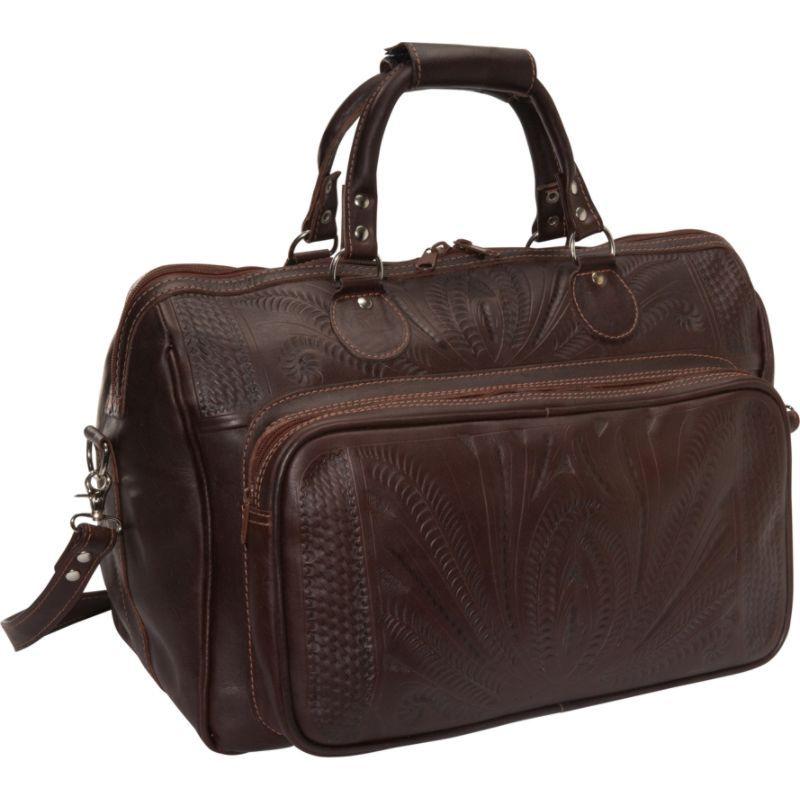 ロピンウェスト メンズ スーツケース バッグ 18 Leather Weekender Brown