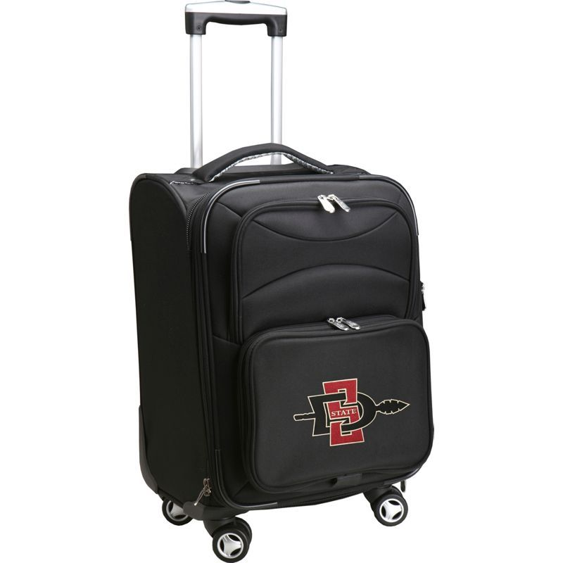 デンコスポーツ メンズ スーツケース バッグ NCAA 20 Domestic Carry-On Spinner San Diego State University Aztecs