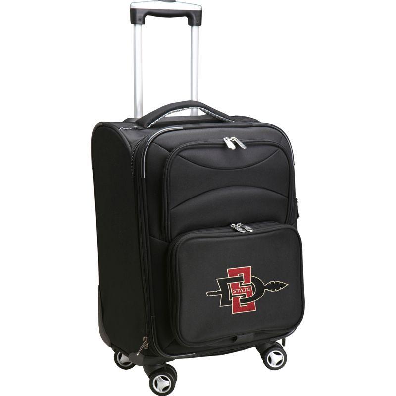 デンコスポーツ メンズ スーツケース バッグ NCAA 20 Domestic Carry-On Spinner San Diego State University Aztecs