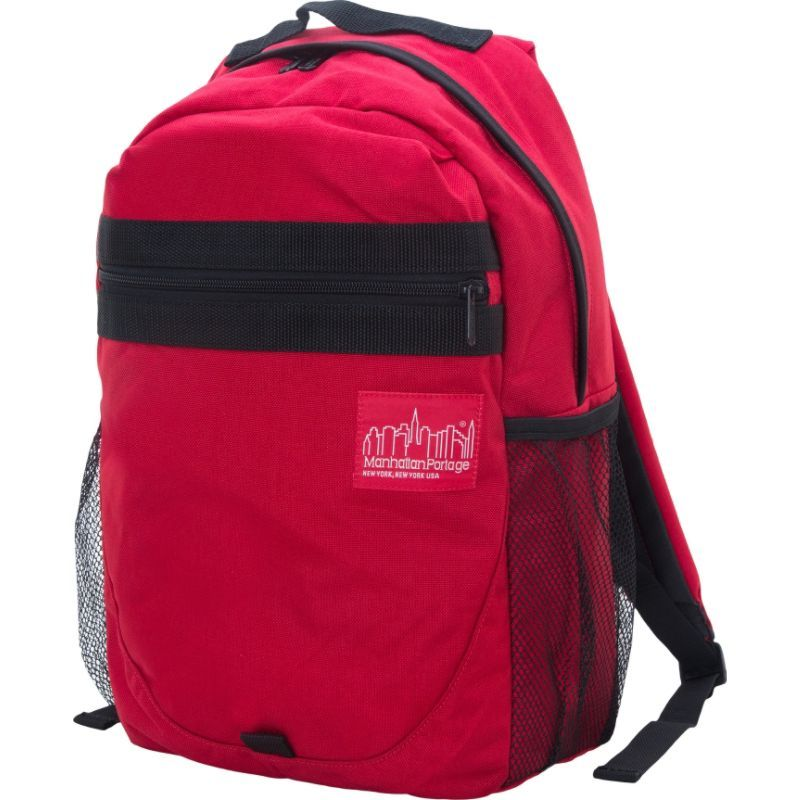 cace64825678 マンハッタンポーテージ メンズ バックパック・リュックサック バッグ Critical Mass Backpack Red