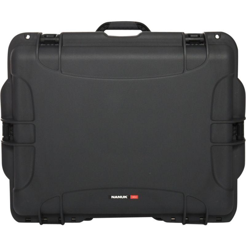ナヌク メンズ スーツケース バッグ 960 Water Tight Protective Case w/Padded Divider Grey