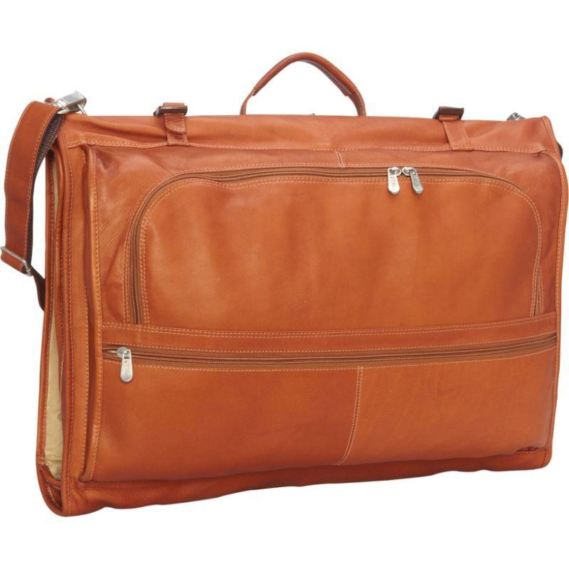 ピエール メンズ スーツケース バッグ Tri-Fold Garment Bag Saddle