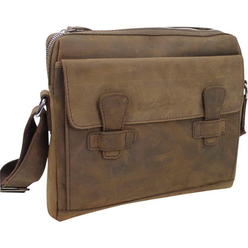 ヴァガボンドトラベラー メンズ ショルダーバッグ バッグ 13 Leather Messenger Shoulder Bag Distress