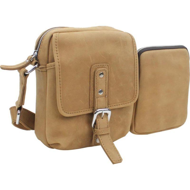 ヴァガボンドトラベラー メンズ ショルダーバッグ バッグ 8.5 Leather Parent-Child Shoulder/Waist Bag Nature Brown