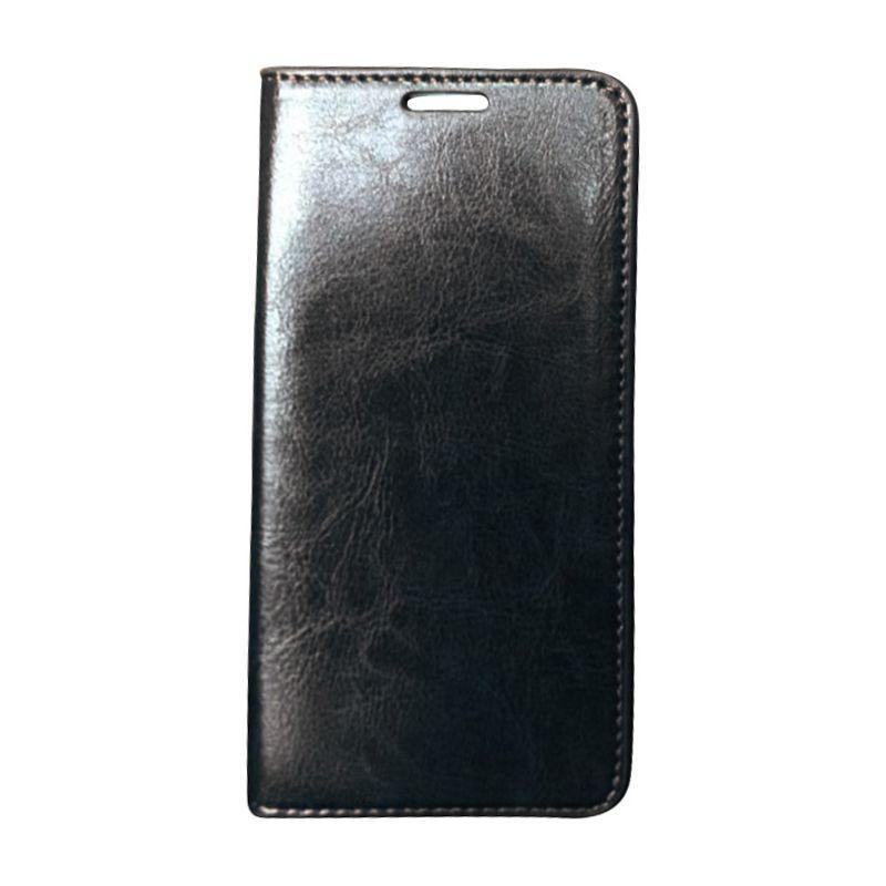 ビンセンゾレザー メンズ PC・モバイルギア アクセサリー Hudson Samsung Galaxy S6 Leather Folio Wallet Case Black