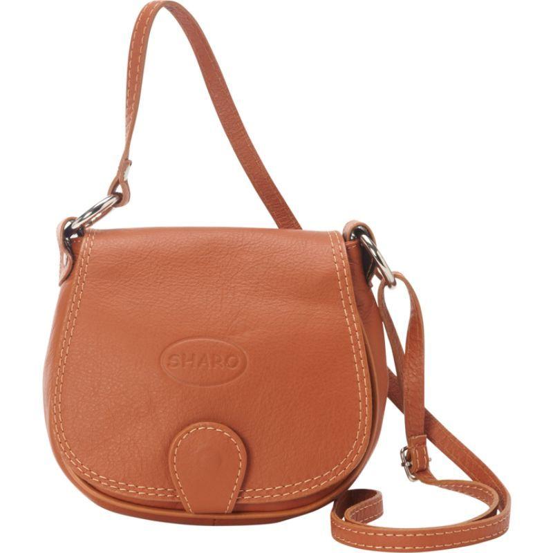 シャロレザーバッグス メンズ ボディバッグ・ウエストポーチ バッグ Soft Italian Leather Saddle Bag Honey Brown
