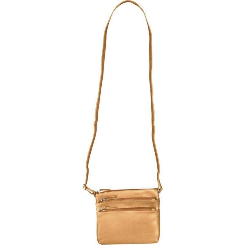 キャニオンアウトバック メンズ ボディバッグ・ウエストポーチ バッグ Leather Oak Creek Canyon Leather Crossbody Bag Tan