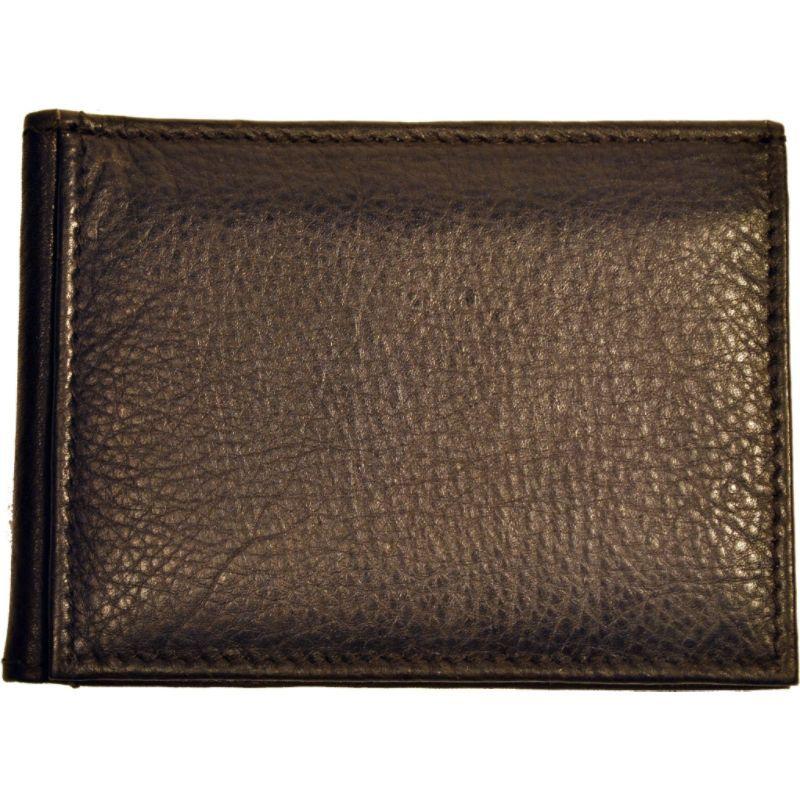 バッドレザー メンズ 財布 アクセサリー RFID Money Clip Brown