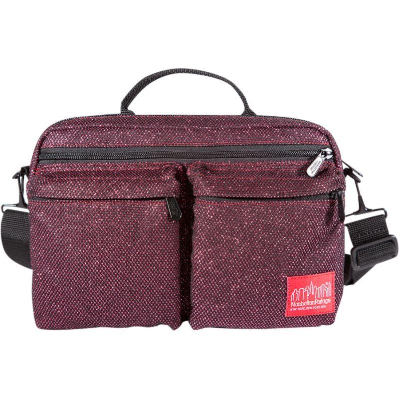 マンハッタンポーテージ メンズ ショルダーバッグ バッグ Midnight Albany Shoulder Bag Burgundy