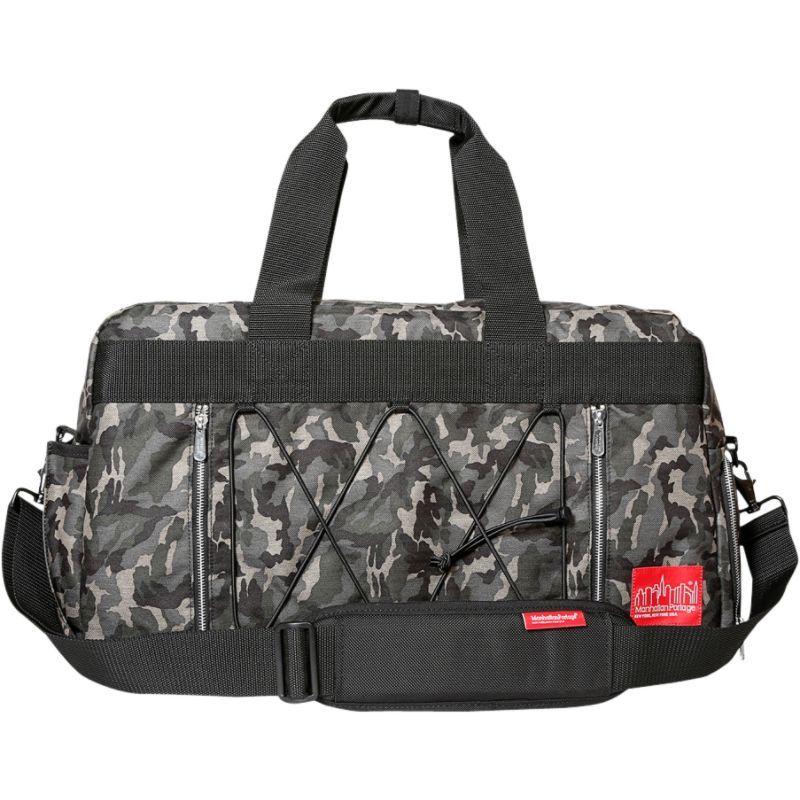 マンハッタンポーテージ メンズ スーツケース バッグ Twill Duffel Bag Camo