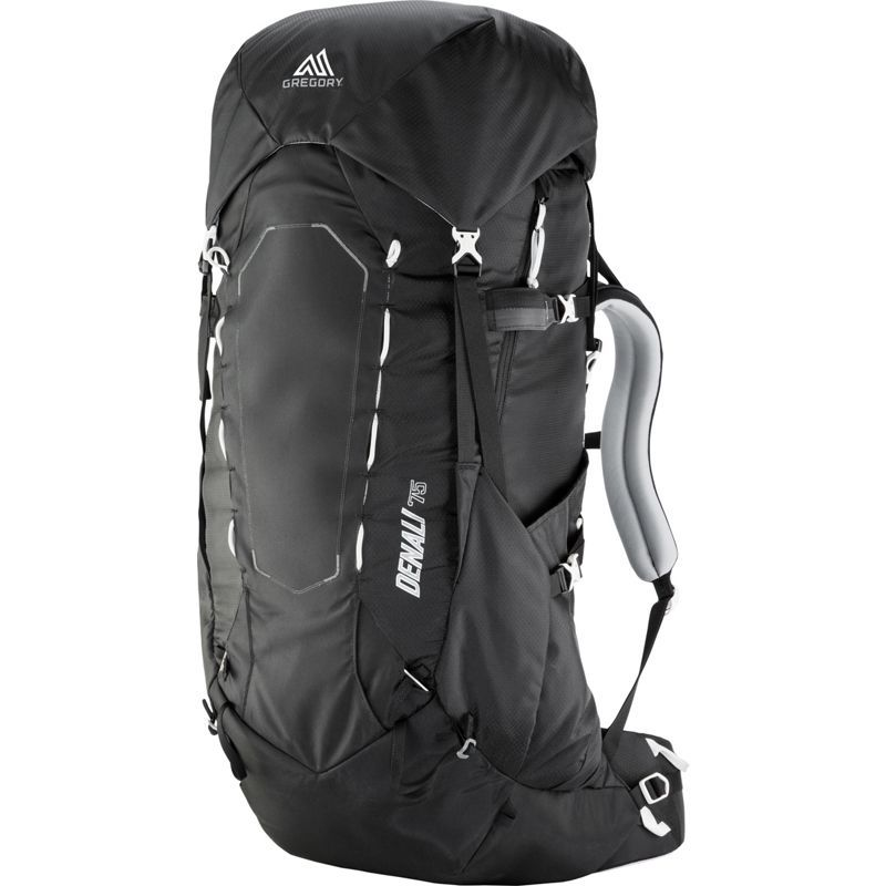 グレゴリー メンズ バックパック・リュックサック バッグ Denali 75 Hiking Backpack Basalt Black - Medium