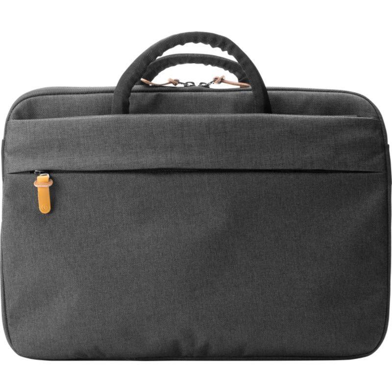 ブーク メンズ スーツケース バッグ Superslim 13 Laptop Brief Black/Tan