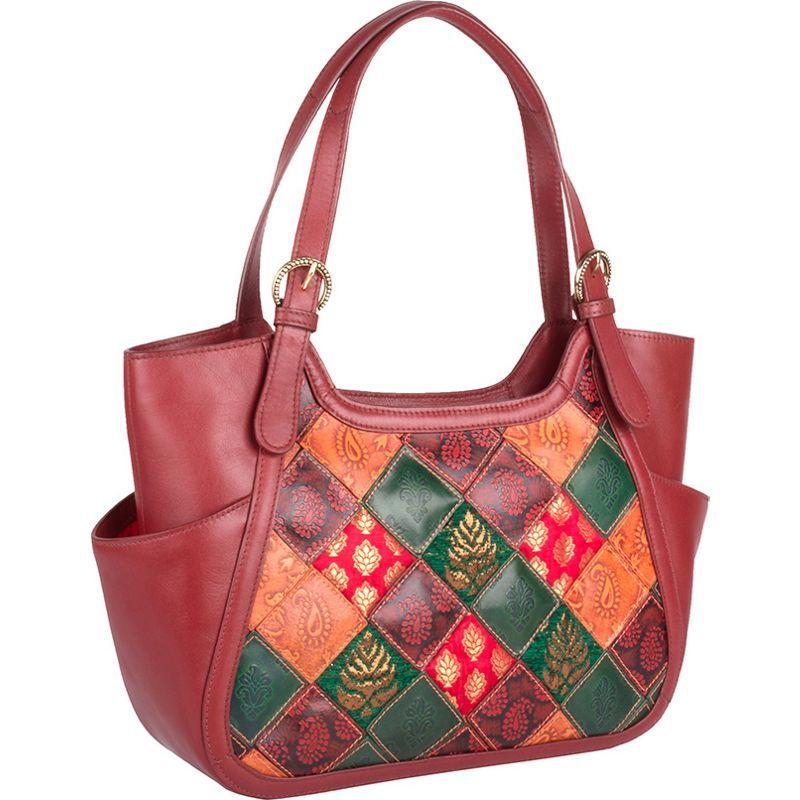 ハイデザイン メンズ ショルダーバッグ バッグ Baga Leather Handbag Red