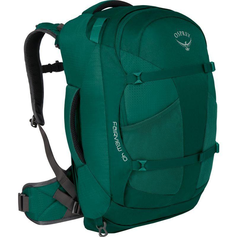 オスプレー レディース バックパック・リュックサック バッグ Women's Fairview 40L Travel Backpack Rainforest Green XS/S