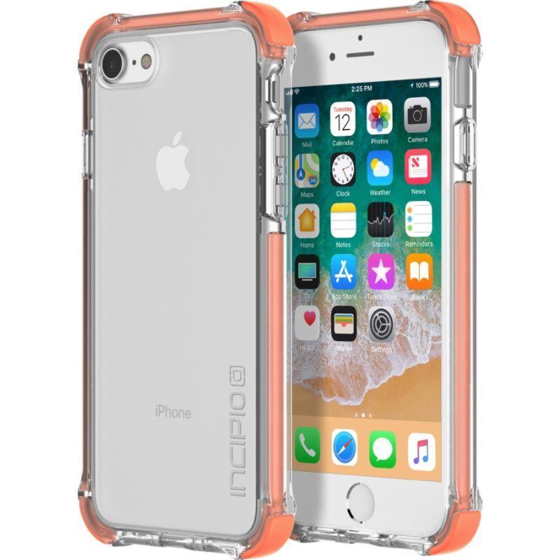 インシピオ メンズ PC・モバイルギア アクセサリー Reprieve Sport Case for iPhone 8 Coral/Clear