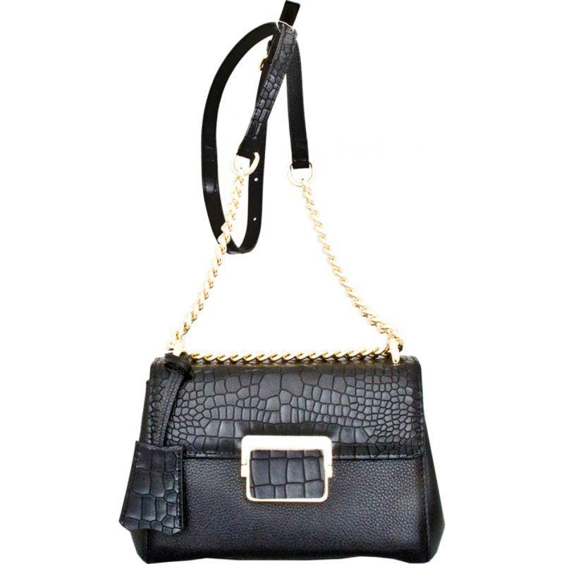 レザーベイ メンズ ショルダーバッグ バッグ Masio Shoulder Bag Black