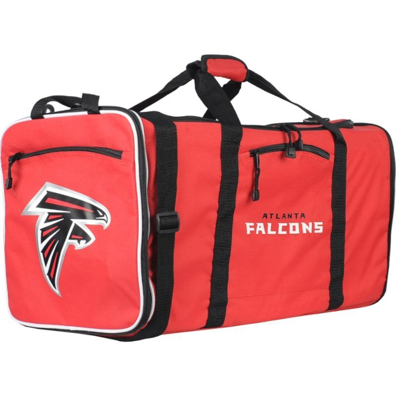 NFL メンズ ボストンバッグ バッグ Steal Duffel Atlanta Falcons
