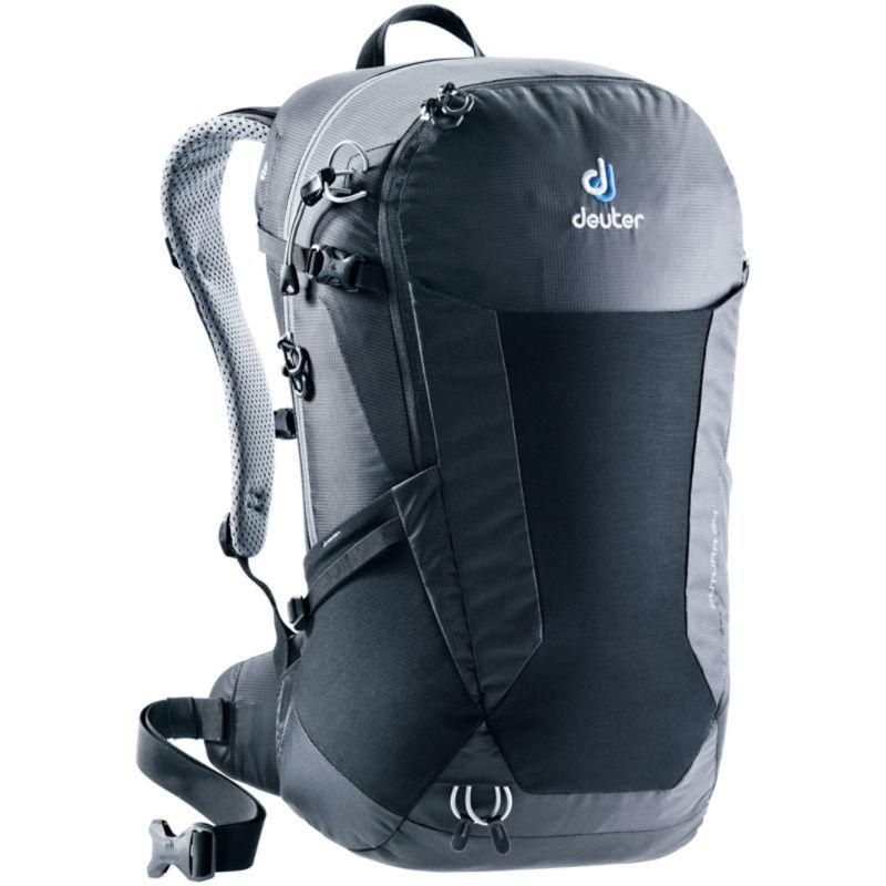 ドイター メンズ バックパック・リュックサック バッグ Futura 24 Hiking Pack Black