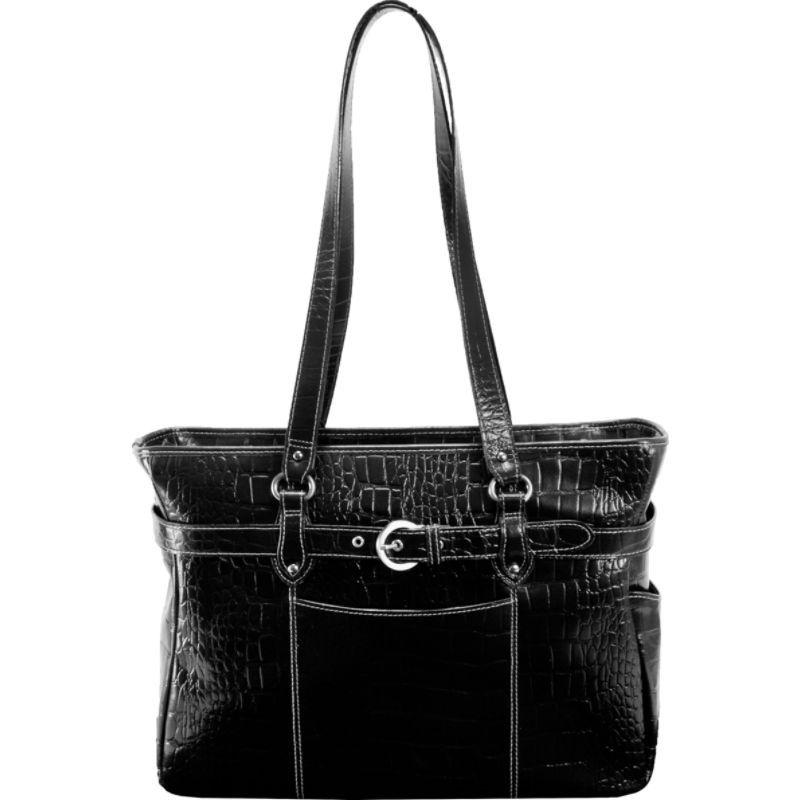 シアモッド メンズ スーツケース バッグ Monterosso Collection Serra Ladies 15.6 Laptop Tote Black