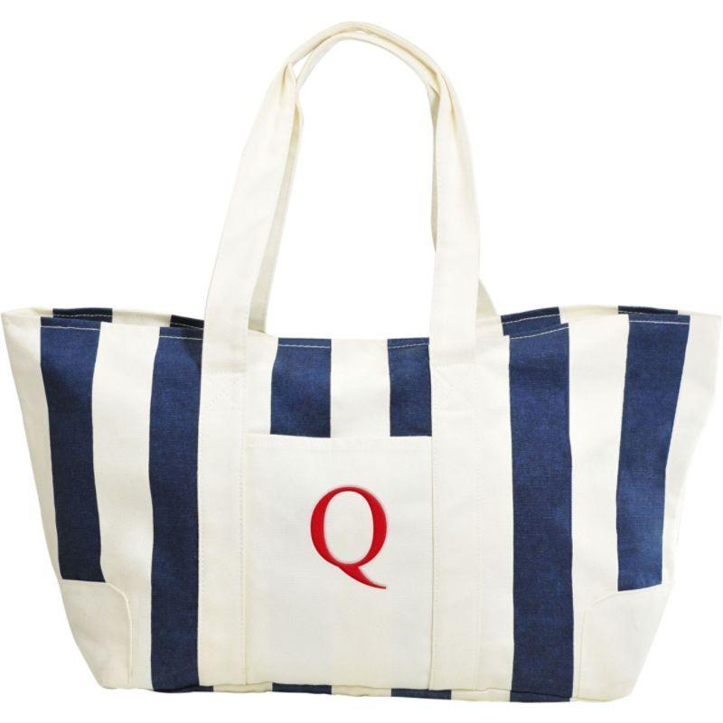 キャシーズ コンセプツ メンズ トートバッグ バッグ Monogram Tote Bag Blue - Q