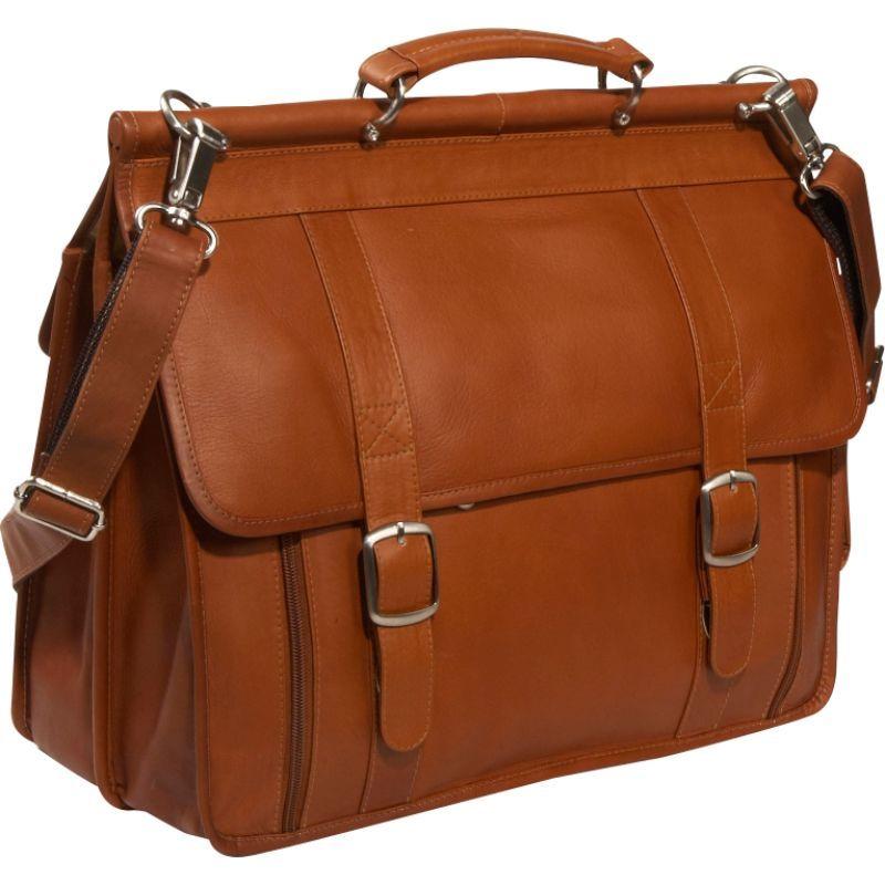 ピエール メンズ スーツケース バッグ European Laptop Briefcase Saddle