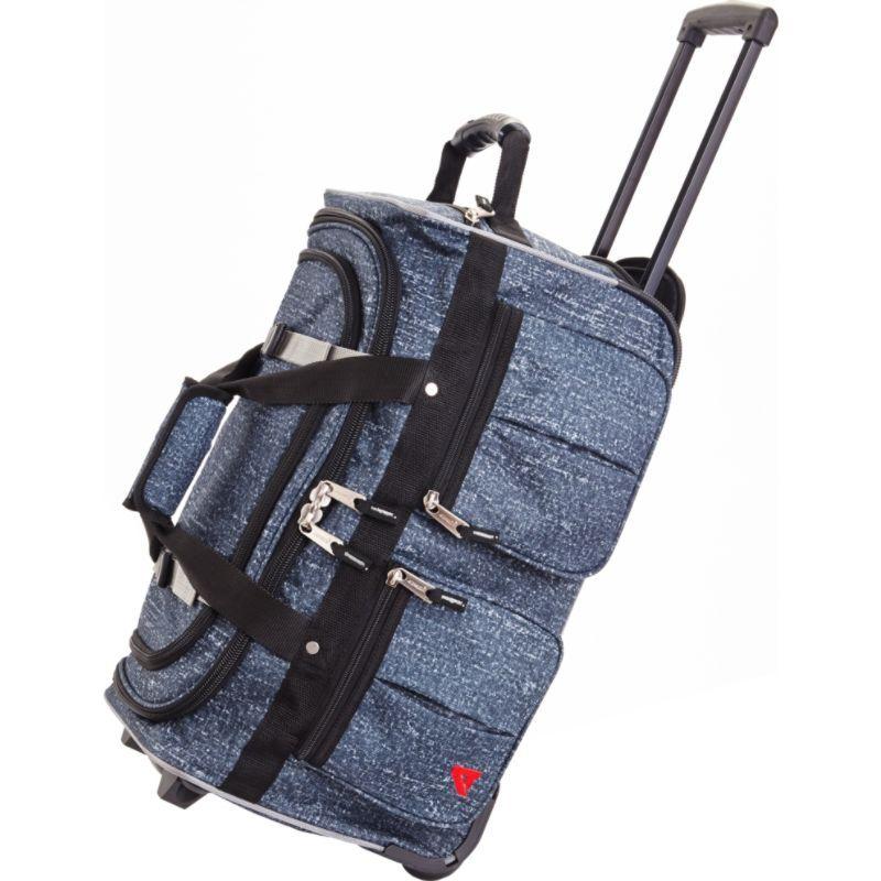 アサロン Blue メンズ スーツケース バッグ スーツケース 15-Pocket 22 バッグ Wheeling Duffel Blue Rain, 秋田県:8654fe09 --- municipalidaddeprimavera.cl