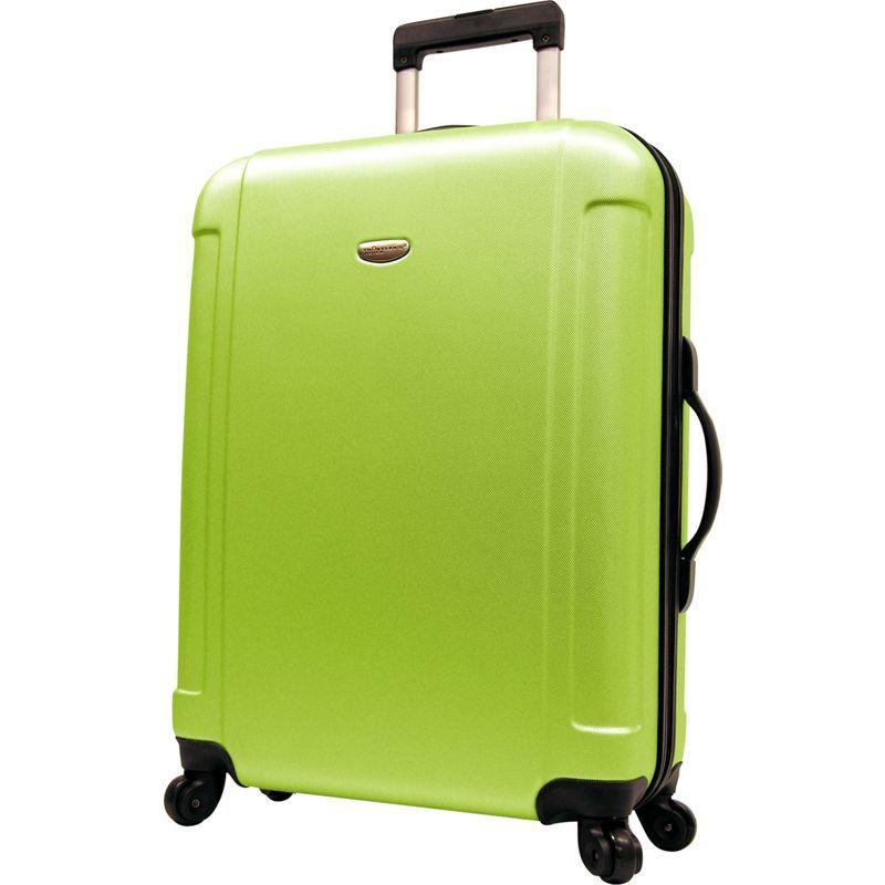 トラベラーズチョイス メンズ スーツケース バッグ Freedom 29 in. Hardshell Spinner Upright Apple Green