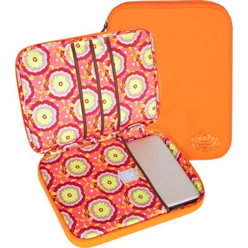 エミーバトラー メンズ スーツケース バッグ NOLA Laptop Wrap Buttercups Tangerine