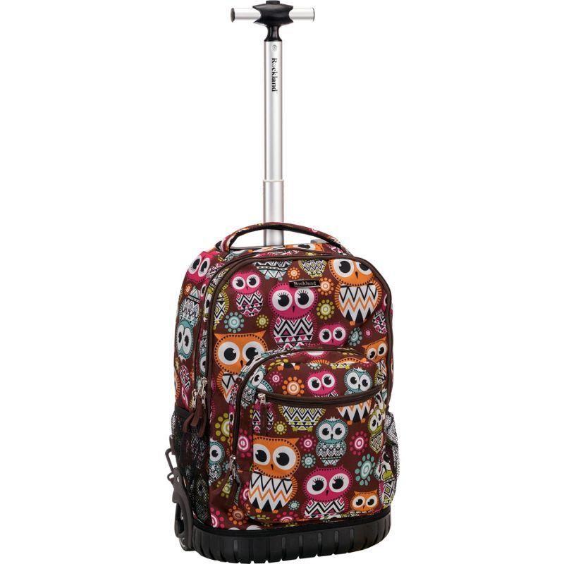 ロックランド メンズ バックパック・リュックサック バッグ Sedan 19 Rolling Backpack OWL