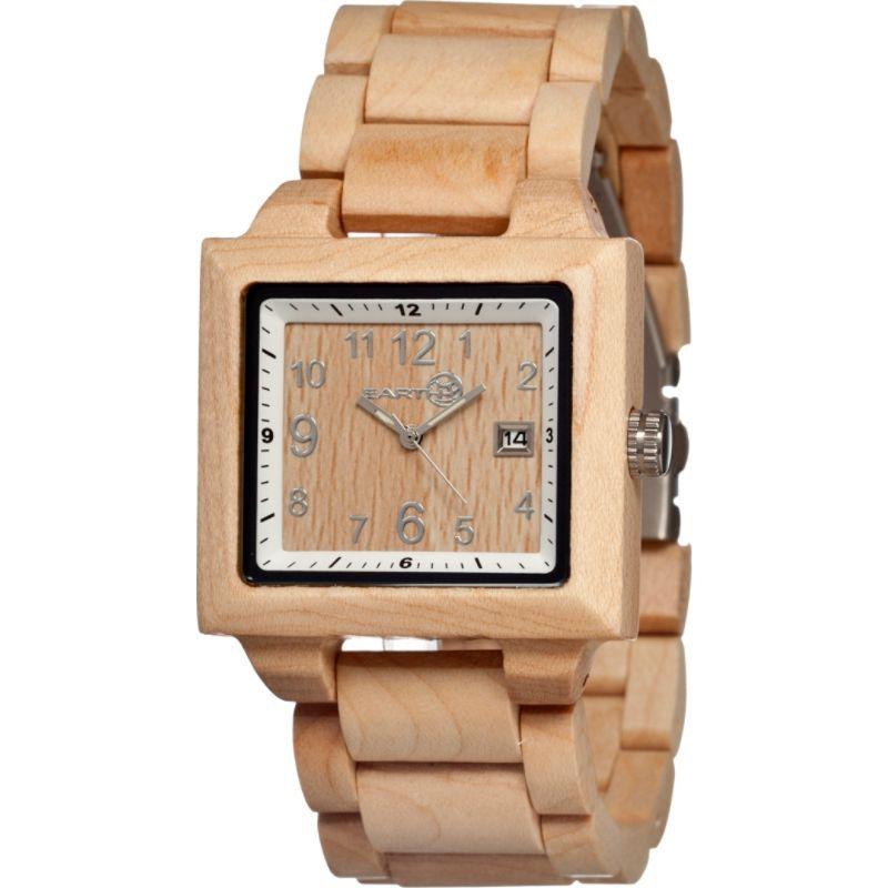 アースウッド メンズ 腕時計 アクセサリー Culm Tan