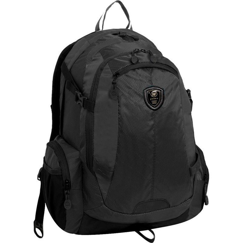 ジャイワールドニューヨーク メンズ スーツケース バッグ Quivera2 Laptop Backpack Black