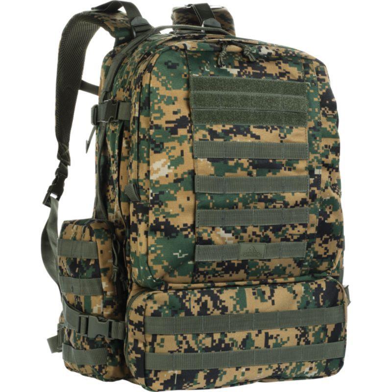レッドロックアウトドアギア メンズ ボストンバッグ バッグ Diplomat Pack Woodland Digital Camouflage