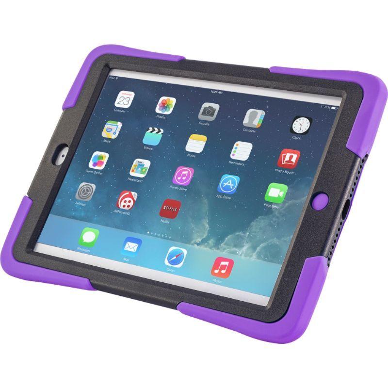 デバイスウェア メンズ PC・モバイルギア アクセサリー Caseiopeia Keepsafe Kick for iPad Air Purple