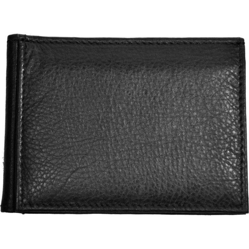 バッドレザー メンズ 財布 アクセサリー RFID Money Clip Black