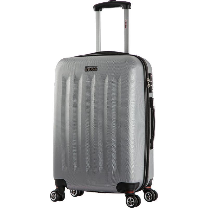 インユーエスエー メンズ スーツケース バッグ Philadelphia Collection 23 Lightweight Hardside Spinner Suitcase Grey