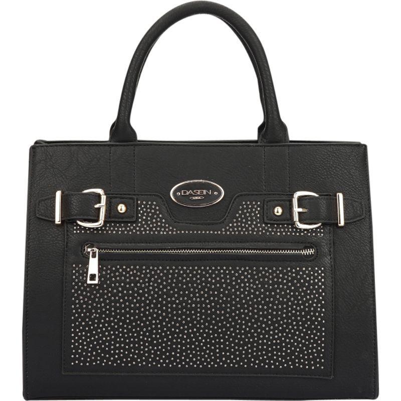 ダセイン メンズ トートバッグ バッグ Belted Medium Tote Bag Black