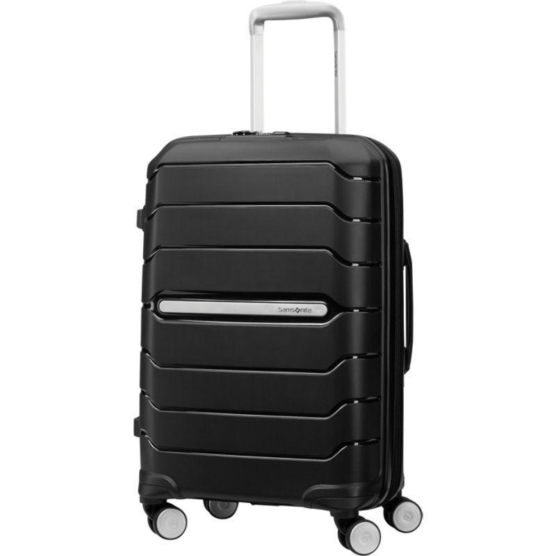 サムソナイト メンズ スーツケース バッグ Freeform 21 Carry-On Hardside Spinner Black