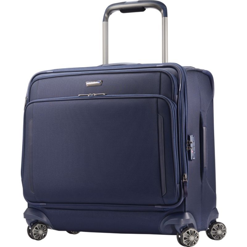 サムソナイト メンズ スーツケース バッグ Silhouette XV Softside Large Glider Case Twilight Blue