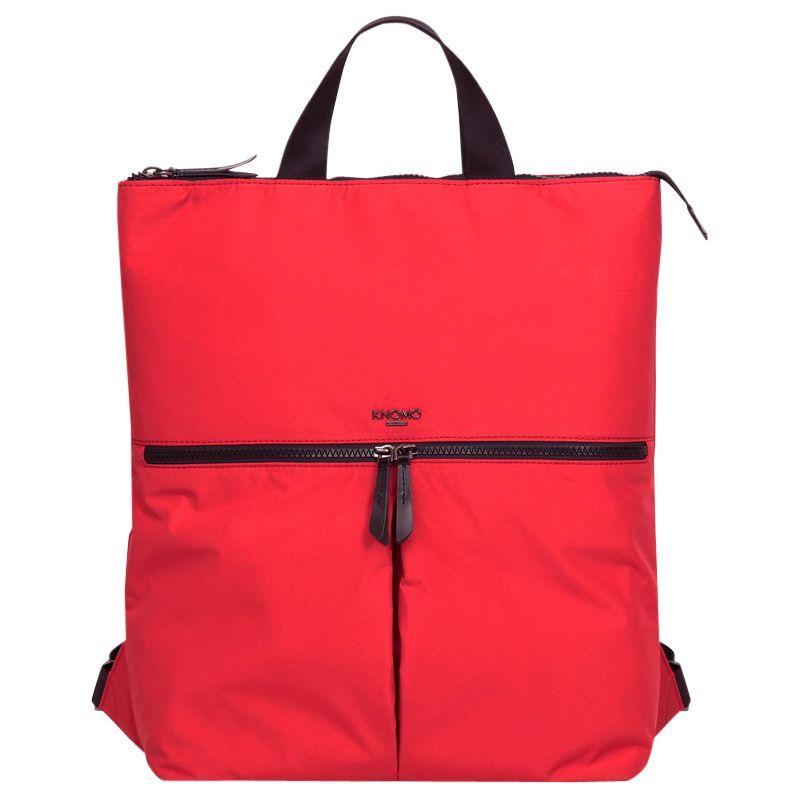 クノモ メンズ スーツケース バッグ Dalston Reykjavik Poppy Red