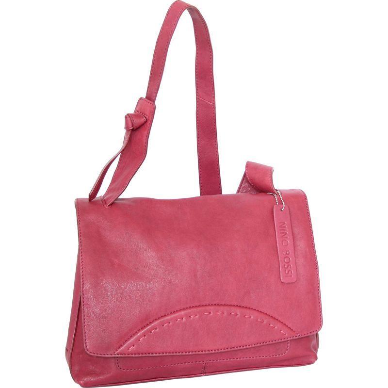 ニノボッシ メンズ ショルダーバッグ バッグ Felicia Shoulder Bag Fuchsia