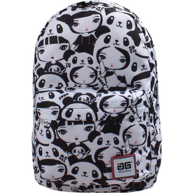 アフターゲン メンズ バックパック・リュックサック バッグ Anti-Bully Backpack Panda Girl