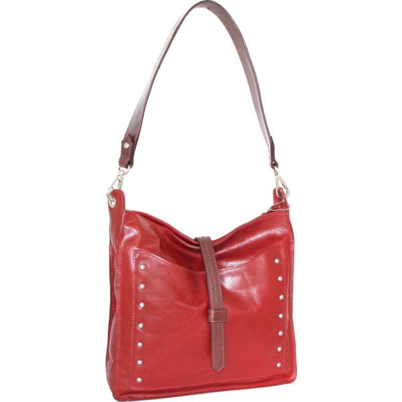ニノボッシ メンズ ショルダーバッグ バッグ Iyanna Shoulder Bag Crimson